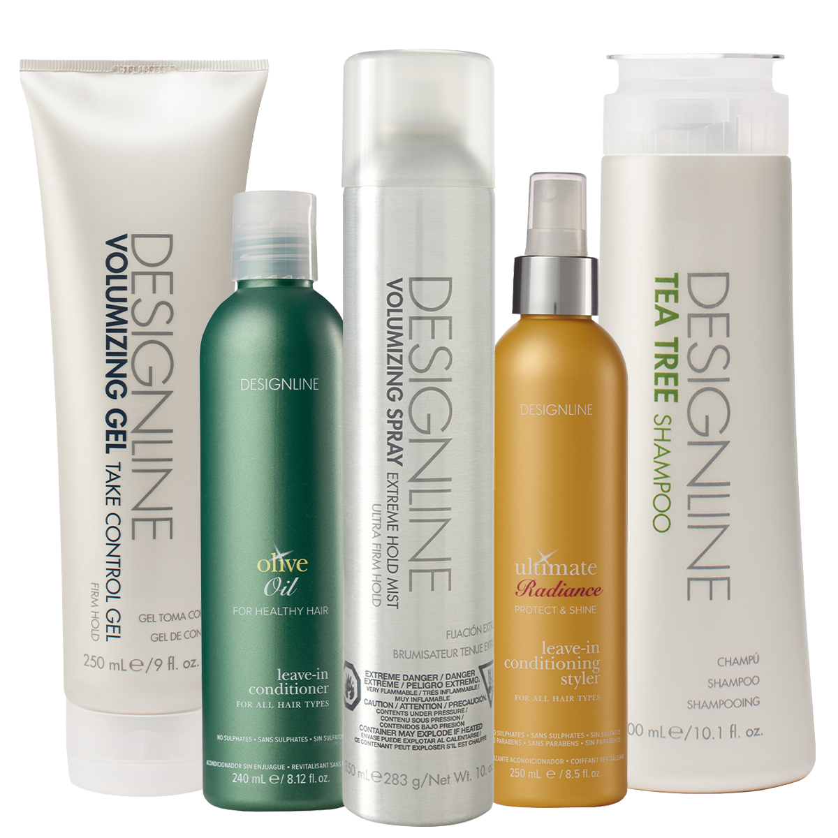 Products: DESIGNLINE Hair Products